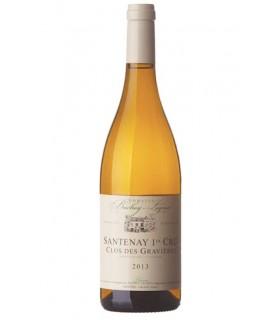 Santenay blanc 1er cru Clos des Gravières 2017 - Domaine Bachey-Legros