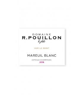 """Coteaux Champenois blanc """"Sur le Mont"""" 2018 - Champagne R. Pouillon"""