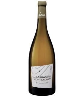 """Chassagne-Montrachet blanc en Pimont """" Au pied du mont chauve"""" 2015 - Domaine F. Picard"""